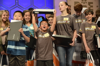 Scripps Bee spellers get surprise from Microsoft