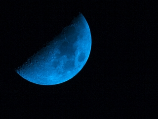 Once in a blue moon this Saturday