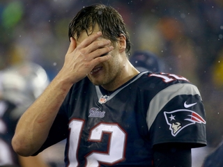 PHOTO: Brady OK after 'silly' scissors accident