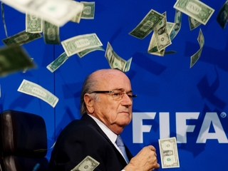 FIFA's corruption is entirely believable