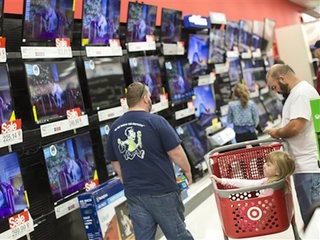Black Friday sales fall as Americans go online