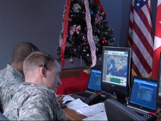 Why NORAD stalks Santa's sleigh on Christmas