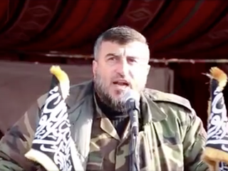 Airstrikes kill leader of Syrian rebel group