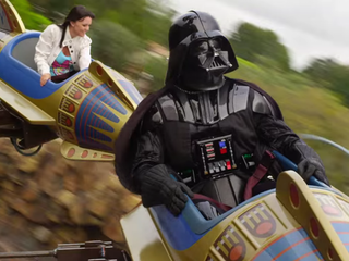 'Star Wars' forces out Disneyland attractions
