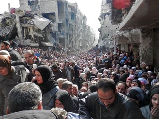 The medieval tactic starving civilians in Syria