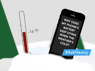 Your smartphone can't stand the cold, either