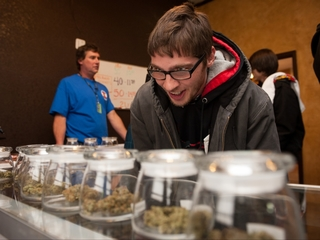 Pot dispensaries have too much money to store