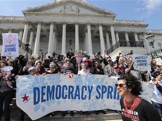 'Democracy Spring' brings protestors to DC