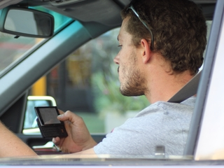 Distracted drivers near schools