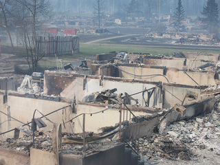 Canada wildfire: Entire neighborhoods destroyed