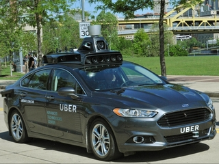 Uber debuts its self-driving car in Pittsburgh