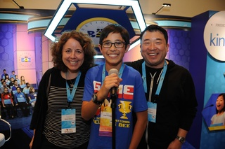 Scrabble champ seeks national Spelling Bee win