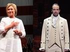 Hillary Clinton teams up with 'Hamilton'
