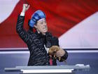 Stephen Colbert crashes RNC convention stage