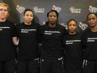 WNBA walks back fines for players' shirts