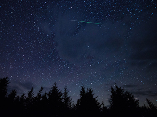 Perseid meteor shower 'warm-up' for eclipse