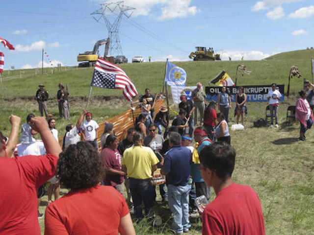 Chairman Archambault claims pipeline builders provoke protesters