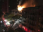 Massive fire hits NYC building