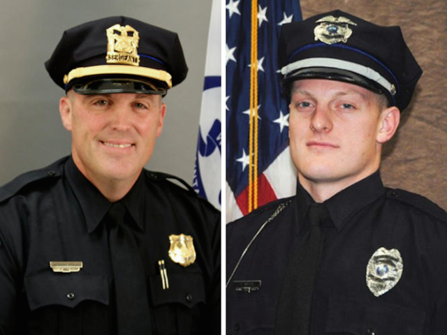 Flags to be lowered to honor slain Iowa officers