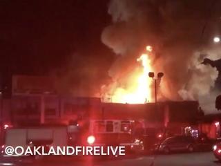 Oakland warehouse fire kills 9, dozens missing