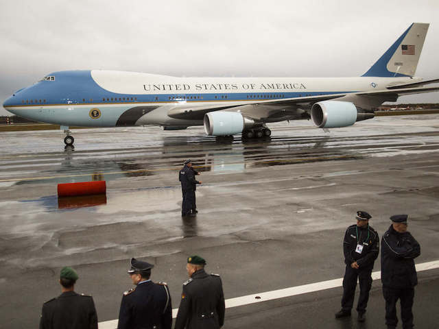 Trump says cancel new Air Force One: Costs 'out of control'