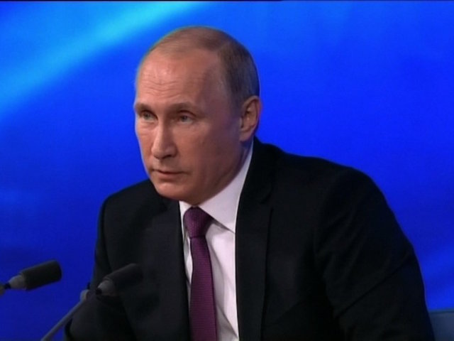 Putin Hears Briefing On Report Of IS Chief Death
