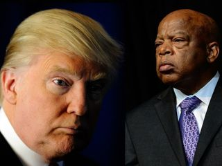 Donald Trump should 'reach out' to John Lewis