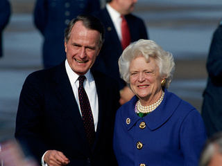Spokesman: Bushes 'both on the upswing'