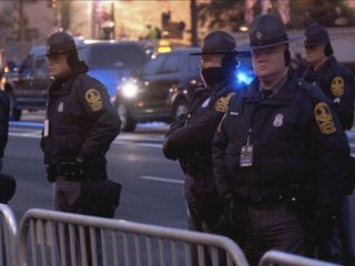 Inauguration security braces for protesters