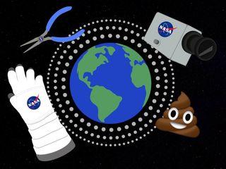 Coolest, weirdest stuff humans put in space