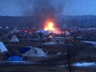 Dakota Access protest deadline strikes