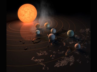 Astronomers discover 7 Earth-like planets