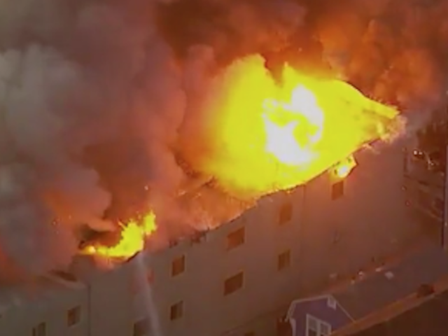 Two dead in massive California four-alarm fire, two missing