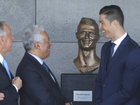 'Creepy' statue of soccer player ridiculed