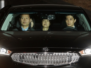Ousted South Korean president arrested