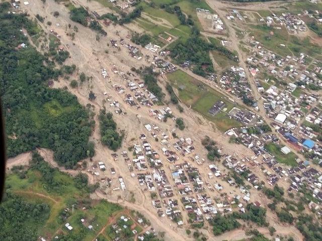 Image result for colombia mudslide