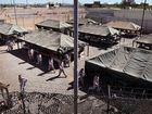 Workers dismantle infamous Tent City complex