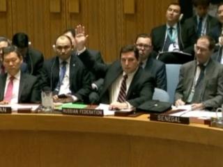 Russia vetoes UN resolution on Syria