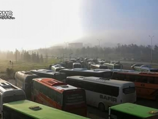 Explosion kills over 100 Syrians fleeing towns
