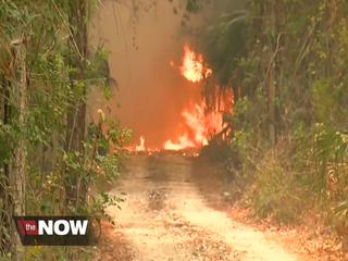 Worst Florida fire season in years