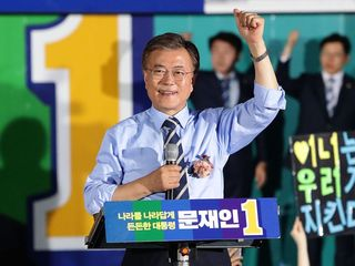 South Korea elects Moon Jae-in as new president