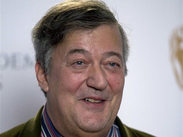 Stephen Fry Blasphemy Probe Dropped