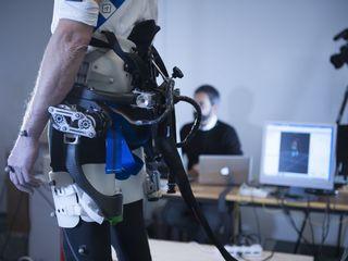 Robotic device helps you keep your balance