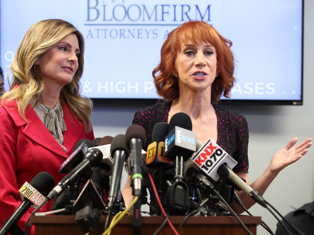 Comedian Kathy Griffin addresses her controversial Trump tweet