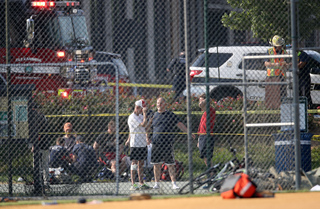 PHOTOS: Shooting at Congressional Baseball Game