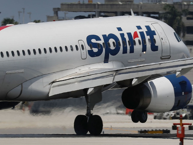 Baby born on Spirit flight gets free flights for life
