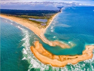 New island appears off coast of North Carolina