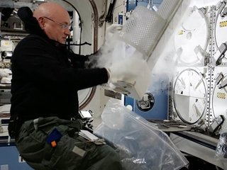 Crystals made in space could be poison antidote