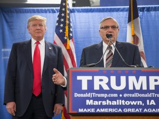 Trump defends decision to pardon Arpaio