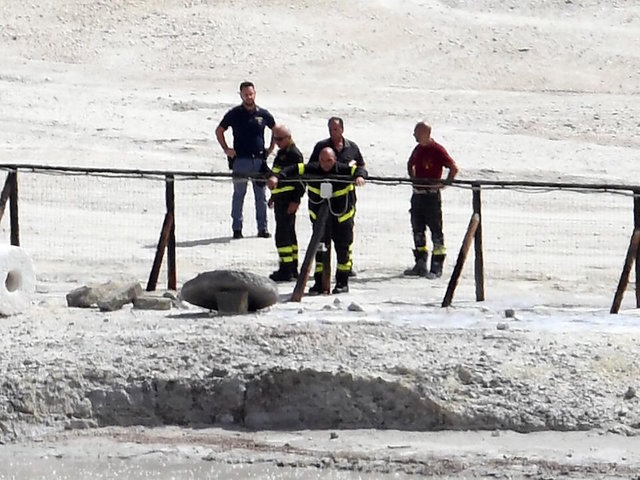Family of three die after falling into volcano crater near Naples